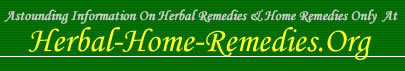 Herbal Home Remedies
